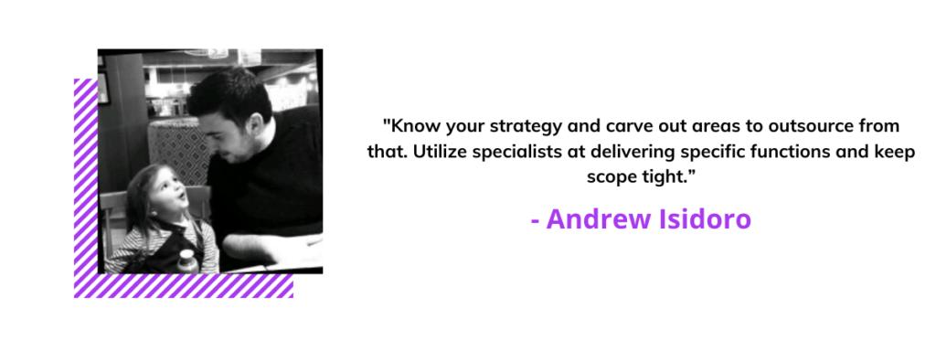Andrew Isidoro quote