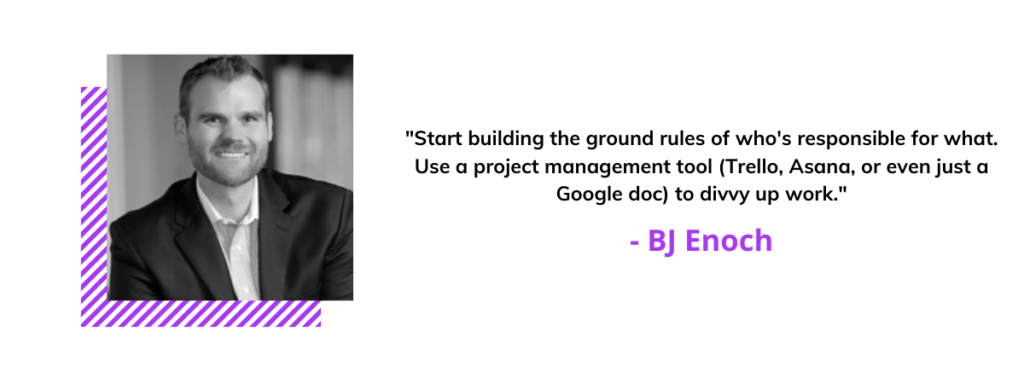 BJ Enoch quote