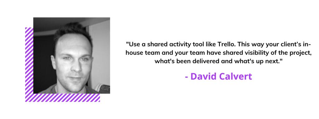 David Calvert quote