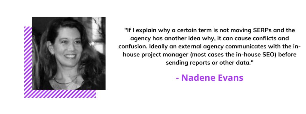 Nadene Evans quote