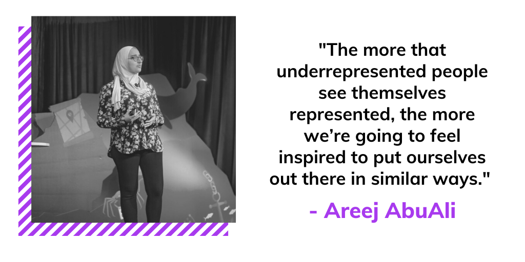 quote from Areej AbuAli