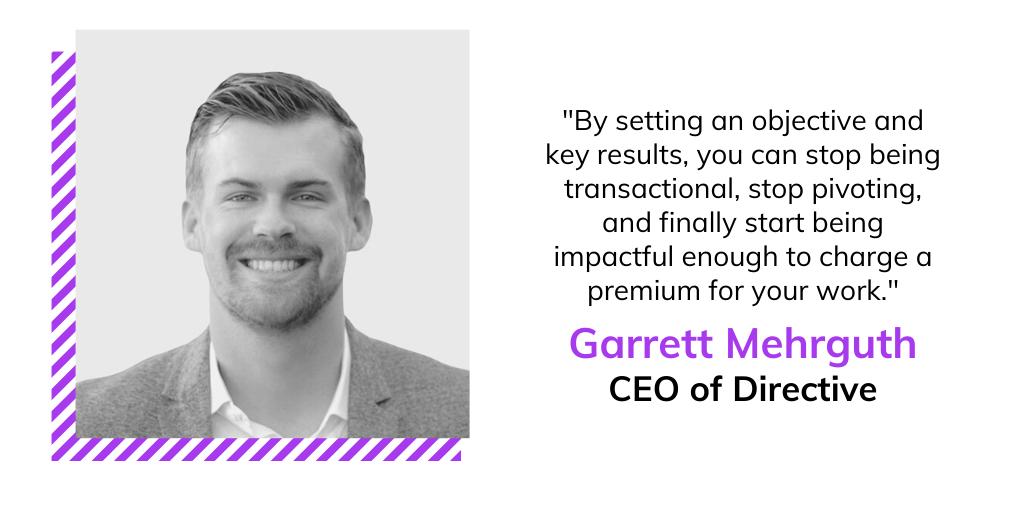 Garrett Mehgruth Directive