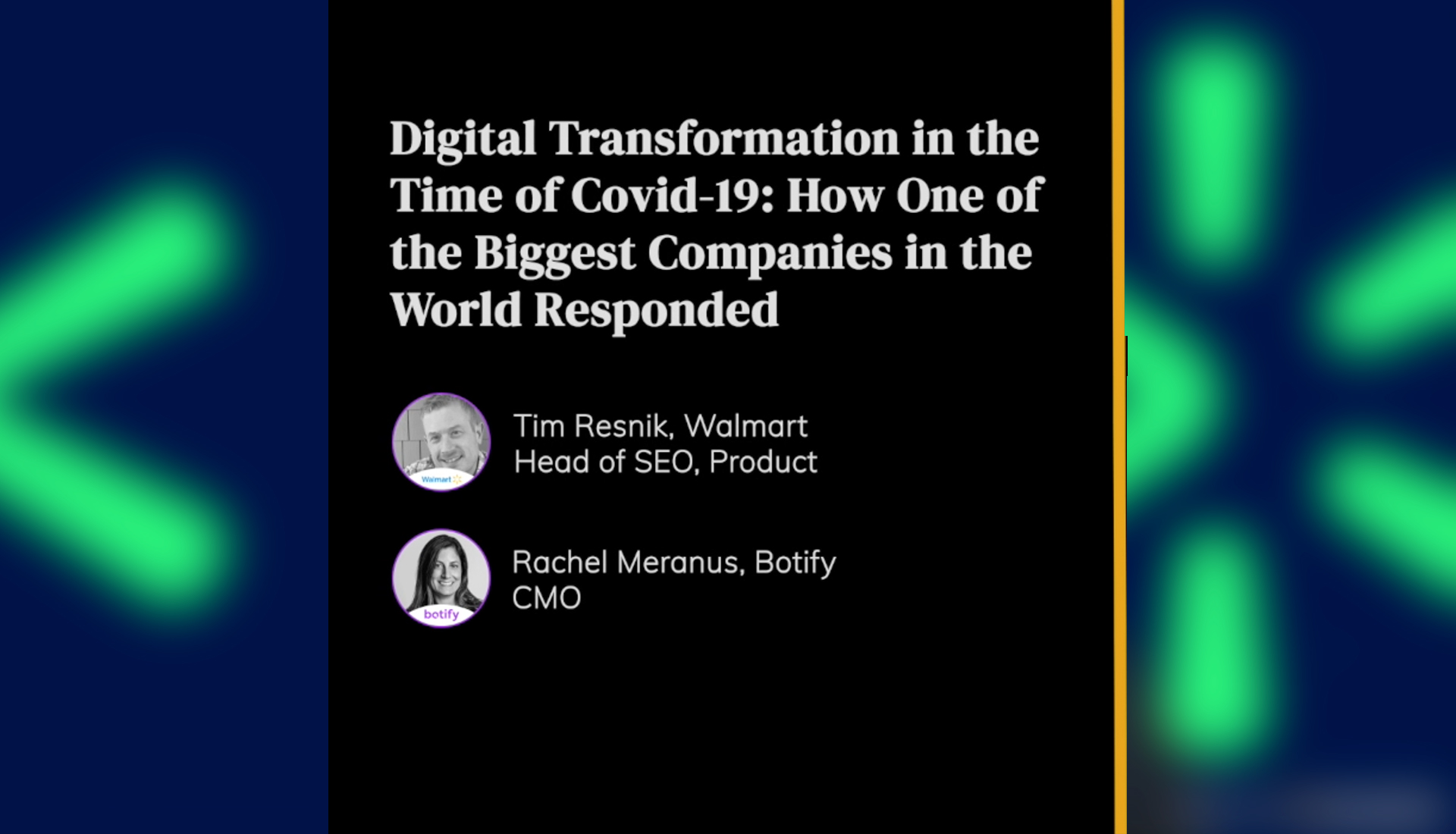 Digital Transformation in the Time of Covid-19: How One of the Biggest Companies in the World Responded