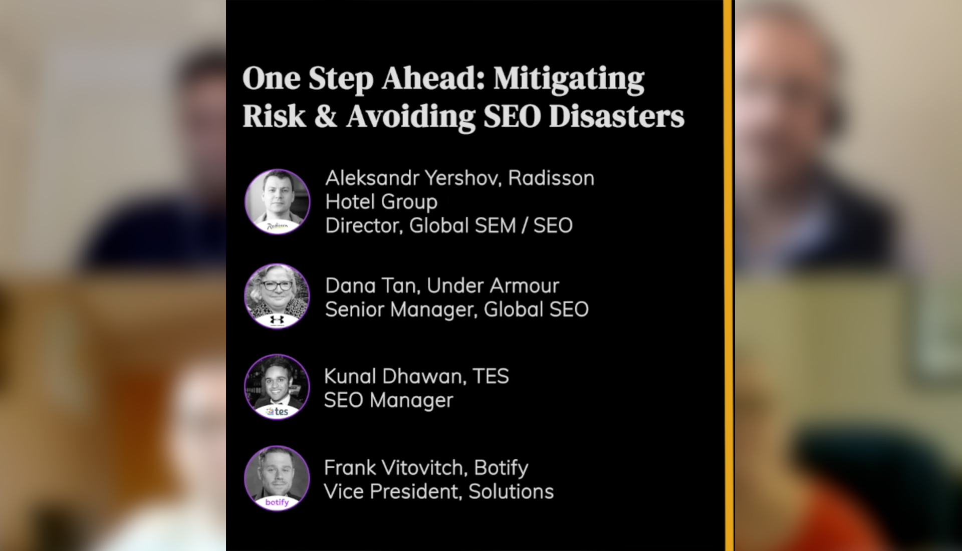 One Step Ahead: Mitigating Risk & Avoiding SEO Disasters
