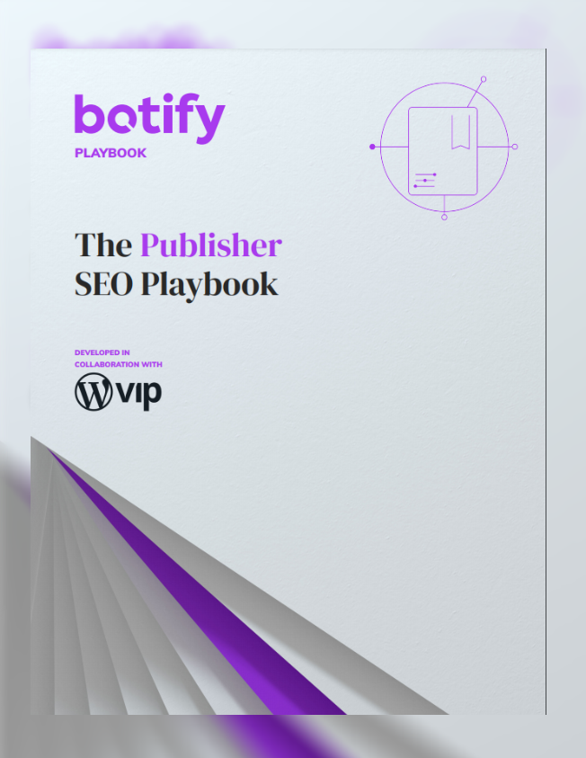 SEO Publisher Playbook cover 2
