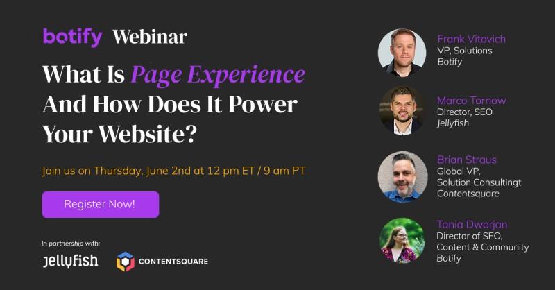 Page Experience Webinar
